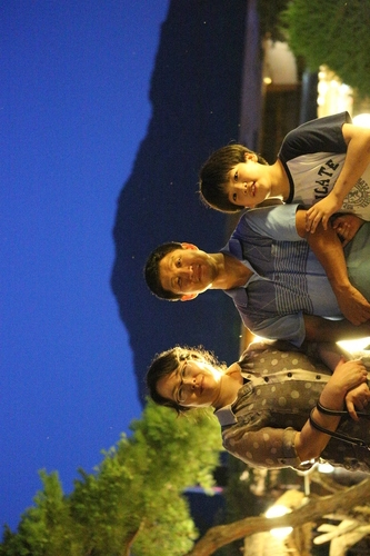 한국사진 보내기
