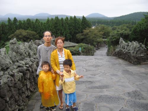2005년 9월 3일 - 9월 6일 가족제주여행