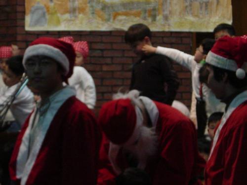 20031221 유아부~초등부까지 함께 준비한 송암교회 성탄축하잔치