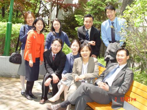 사무실직원들과 점심식사후 한방!